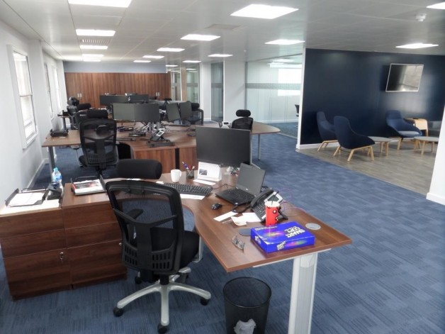 Wyeth Projects deliver their first CAT B Office Fit Out for MRH""